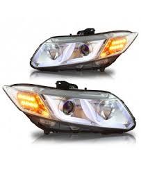 winjet honda civic head lights
