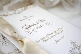 Booklet Wedding Programs Gorgeous Booklet Wedding Program By Sdezigns Catch My Party