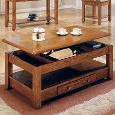 Coffee Tables That Lift Up Coffee Table Magnificent Coffee Table With Drawers Round Wood