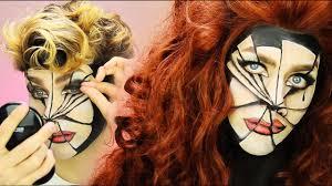 Diy Halloween Makeup by Diy Halloween Makeup Tutorial Broken Glass Optical Illusion