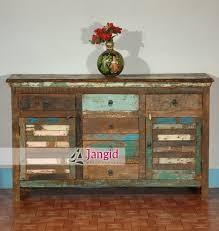 Reclaimed Sideboard Vintage Rustic Reclaimed Wood Cabinet Sideboard Furniture