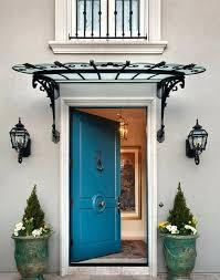Garage French Doors - antique metal awning copper awning for french doors fixed awning