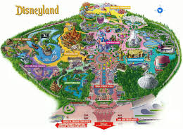Downtown New Orleans Map by Maps Of Disneyland Resort In Anaheim California