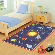 Galaxy Rug Funky Buys Funkybuys Kids Childrens Planets Galaxy Rug Mat