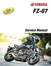 yamaha fz07 abs mt07 abs 2017 workshop repair service manual