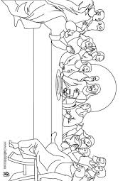 The Last Supper Coloring Page Easter Activities For Kids Last Supper Coloring Page