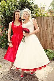 50 S Wedding Dresses A 50 U0027s Halterneck Wedding Dress For A Very British London Wedding