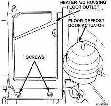 heater dodge dakota i found a few posts regarding removing the heater for a