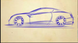 ferrari sketch side view how to draw cars in 5 min sketch 1 youtube