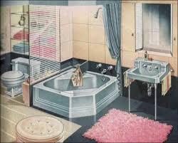 Best Vintage Bathrooms Images On Pinterest Vintage Bathrooms - American bathroom design