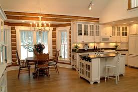 Cabin Kitchen Cabinets Josie U0027s Cabin Rustic Kitchen Grand Rapids By Sears Architects