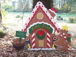 gingerbread house yard decorations collection on ebay