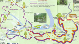 Boston Walking Map by Information Tiny Anbo Town And Other Sights On Yakushima Island