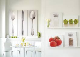 kitchen wall decorations ideas wall decorations for kitchens lovely wondrous knife spoon and fork