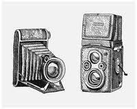 retro camera sketch stock photo image 70979257