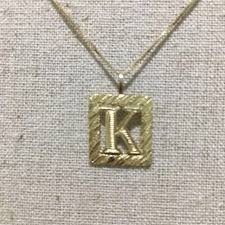 necklace letter pendant images R b canada jewelry 14k gold necklace with letter k pendant jpg