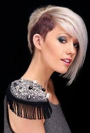 long hair sweeped side fringe shaved hairstyles ideas trends outstanding half shaved head hairstyle