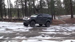 black nissan pathfinder 2005 lifted r51 pathfinder offroad youtube