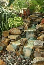 Backyard Waterfall Ideas by 132 Best Pondless Waterfall Ideas Images On Pinterest Backyard