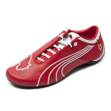 future ferrari puma men u0027s ferrari future cat m1 sf tifosi rosso corsa white shoes