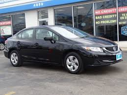 used honda civic chicago used 2015 honda civic 4dr cvt lx for sale chicago il vin