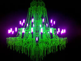 Uv Bathroom Light Uranium Glass Chandelier And Uv Lights Imgur