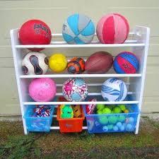 Ball Organizer Garage - garage toy organizer u2013 moonfest us