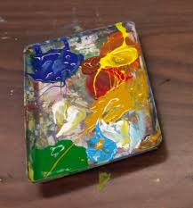 Paint Pallet by This Old Art Room Painting With 1st Van Gogh