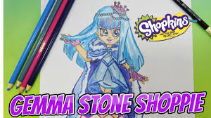 special edition limited gemma stone shoppies shopkins doll how to