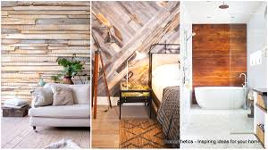 18 extraordinary graphic ways to use wood walls indoors