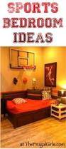 Basketball Bedroom Furniture by Creative Sports Bedroom Theme Ideas At Thefrugalgirls Com
