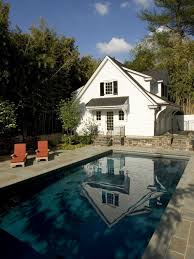 Garage Pool House Plans by Garage And Pool House Houzz