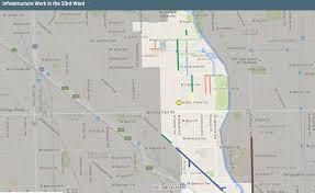 City Of Chicago Ward Map by Ward 33 Alderman Deb Mell