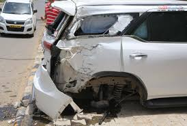 fortuner this new toyota fortuner accident make you realise the importance