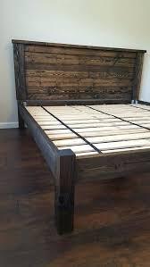 Bed Frame High Bed Frames Diy Bed Frame And Headboard Fin