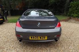 used 2005 bmw 6 series 630i for sale in cambs pistonheads