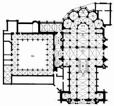 100 cathedral floor plan bell s cathedrals gloucester
