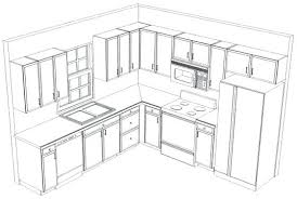 Small Kitchen Floor Plans L Shaped Kitchen With Island Floor Plans Kitchen Layout Ideas With