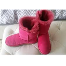 ugg boots sale nomorerack ugg pink bow uggs from chantel s closet on poshmark