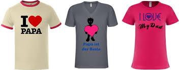 shirt selbst designen t shirt bedrucken vatertag shirts mit passenden motiven zum