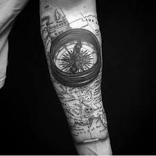3d Compass Tattoos Compass Meanings Nautical Designs Ideas 2017