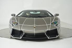 golden lamborghini tron inspired chrome lamborghini aventador is on sale