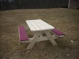 picnic table seat covers picnic table bench cushions for the home pinterest picnic