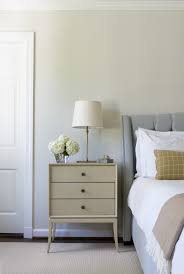small bedside table bedroom traditional with blue headboard small
