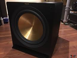 15 inch home theater subwoofer klipsch reference r 115sw 15
