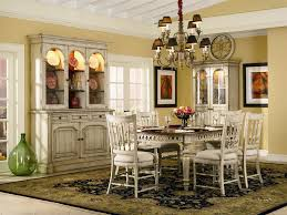 Off White Chandelier Summerglen 62 Inch Buffet And Triple Arch Hutch In Two Tone Off
