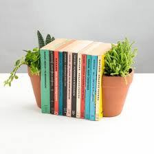 Unique Bookends Plant Pot Living Bookends The Green Head