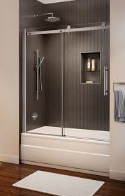 beautiful double sliding shower doors door for your to decorating