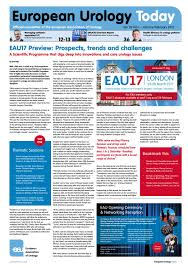 european urology today january february 2017 by european