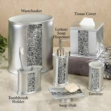 bathroom accessories sets silver wpxsinfo